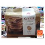 AKAIBOHSHI KUKKIA คุกกี้กรอบ รสช็อกโกแลต (AKAI BOHSHI KUKKIA Whipped Chocolate Sandwiched with Cookie and Gaufre)