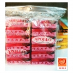 อพอลโล เวเฟอร์เคลือบช็อกโกแลตนม (Apollo Milk Chocolate Wafer Cream)