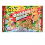 EGO Golden Bear บิสกิตสอดไส้สตรอเบอรี่ (EGO Golden Bear Strawberry Filling Biscuits)