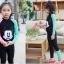 ชุดว่ายน้ำเด็กผู้หญิง เสื้อแขนยาว กางเกงขายาว สีดำ ลายมิ๊กกี้ (รุ่นนี้มีชุดคู่ แม่-ลูก ด้วยค่ะ) thumbnail 1