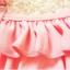ชุดว่ายน้ำเด็ก ทูพีช สีชมพู มีระบายเป็นชั้นๆ พร้อมหมวก น่ารัก หวานๆ thumbnail 4