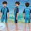 ชุดว่ายน้ำเด็กควบคุมอุณหภูมิ เป็นชุด wetsuit เหมาะกับการใส่ว่ายน้ำหรือดำน้ำ ผลิตจากผ้า Neoprene หนา 2 mm. ป้องกันความหนาว / ป้องกันรังสี UV Ultraviolet Protection UV 100% thumbnail 1