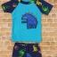 ชุดว่ายน้ำเด็กชาย ป้องกัน UV พร้อมหมวก ลายไดโนเสาร์ กางเกงมีเชือกผูกเอว thumbnail 4