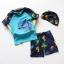 ชุดว่ายน้ำเด็กชาย ป้องกัน UV พร้อมหมวก ลายไดโนเสาร์ กางเกงมีเชือกผูกเอว thumbnail 2