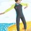 ชุดบอดี้สูทแขนยาวขายาว ซิปหน้า ป้องกันรังสี UV thumbnail 3
