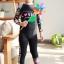 ชุดว่ายน้ำเด็กแขนยาว ขายาว สีดำ ลาย Love (รุ่นนี้ใส่ได้ทั้ง เด็กหญิง เด็กชาย ) thumbnail 2