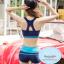 ชุดว่ายน้ำผู้หญิง ผู้ใหญ่ แบบ sport เสื้อแขนยาว กางเกงขาสั้น 1 set มี 3 ชิ้น มีให้เลือก 2 สี --->เขียวมิ้น /ฟ้า thumbnail 9
