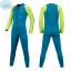 ชุดว่ายน้ำเด็กควบคุมอุณหภูมิแขนยาว ขายาว ป้องกันความหนาว /ป้องกัน UV ผลิตจากผ้า Neoprene หนา 2 mm. มี 2 สี---> สีฟ้า/สีชมพู thumbnail 2