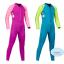 ชุดว่ายน้ำเด็กควบคุมอุณหภูมิแขนยาว ขายาว ป้องกันความหนาว /ป้องกัน UV ผลิตจากผ้า Neoprene หนา 2 mm. มี 2 สี---> สีฟ้า/สีชมพู thumbnail 3
